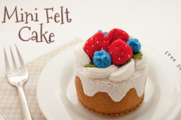 Mini Felt Cake