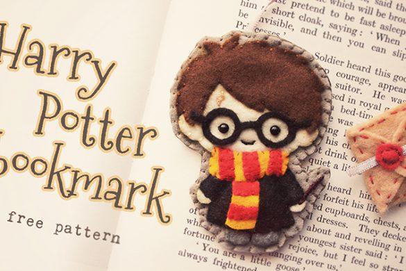 Felt Harry Potter Bookmark
