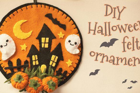Halloween Felt Decoration
