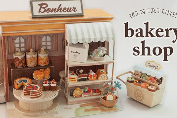 Miniature Bakery Diorama