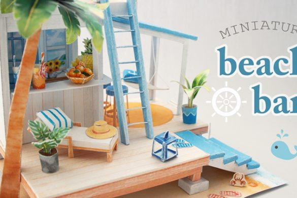 🌴 Beach Bar Diorama 🌴