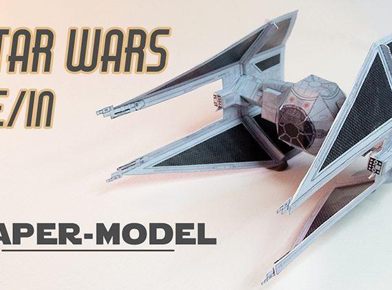 TIE fighter interceptor (star wars)