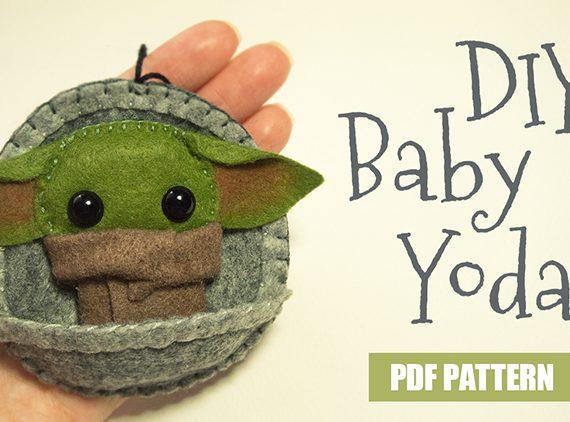 Baby Felt Yoda