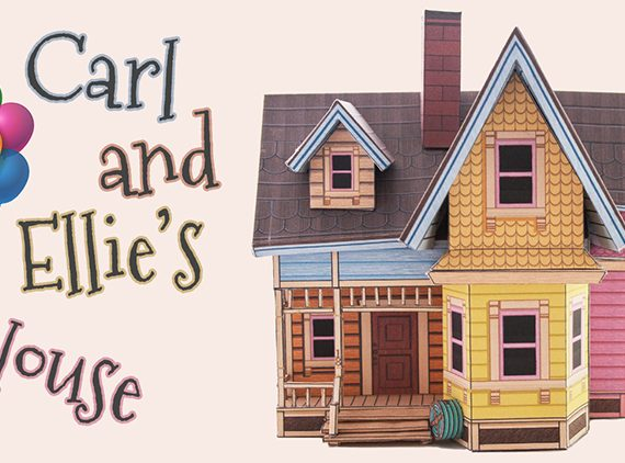 Carl and Ellie's house from UP