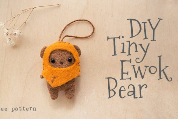 Tiny Ewok Bear