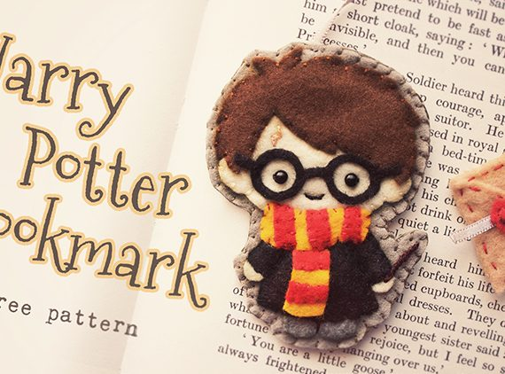 Felt Harry Potter Bookmark