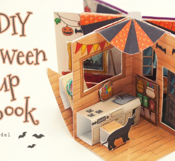 Halloween Pop-Up  Mini Book