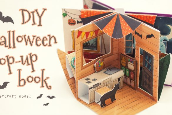 Halloween Pop-Up  Mini Book