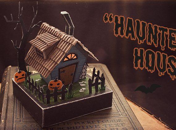 Spooky House Diorama