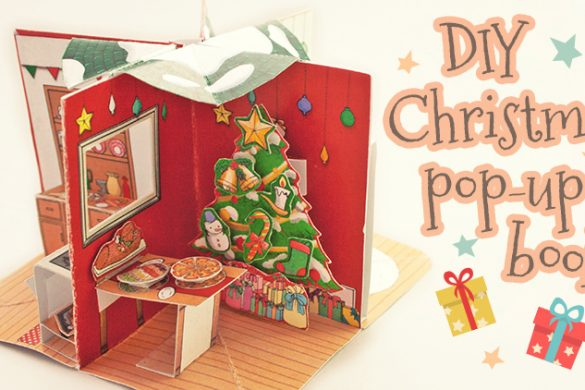 Christmas Pop-Up  Mini Book
