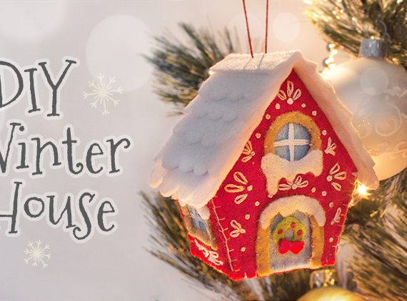 Winter Christmas House